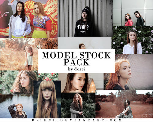 Model Stock Pack : 50 Photos HD