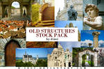 Old Structures Stock Pack : 30 HD Photos