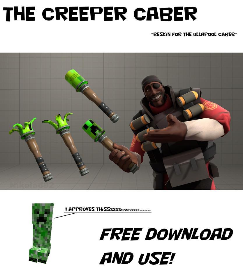 Creeper Caber + Download by Nikolad92