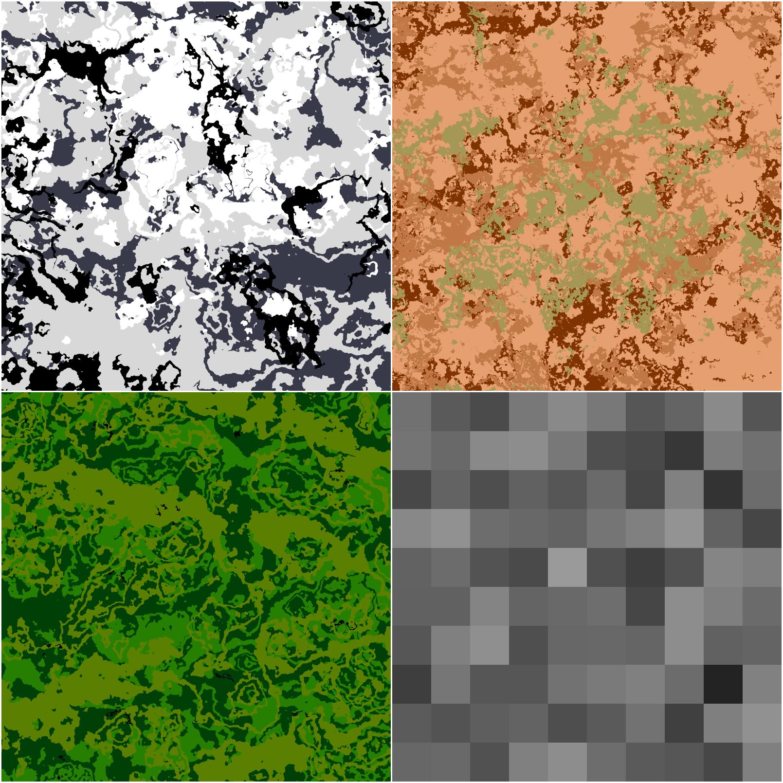 Camo patterns by Nikolad92