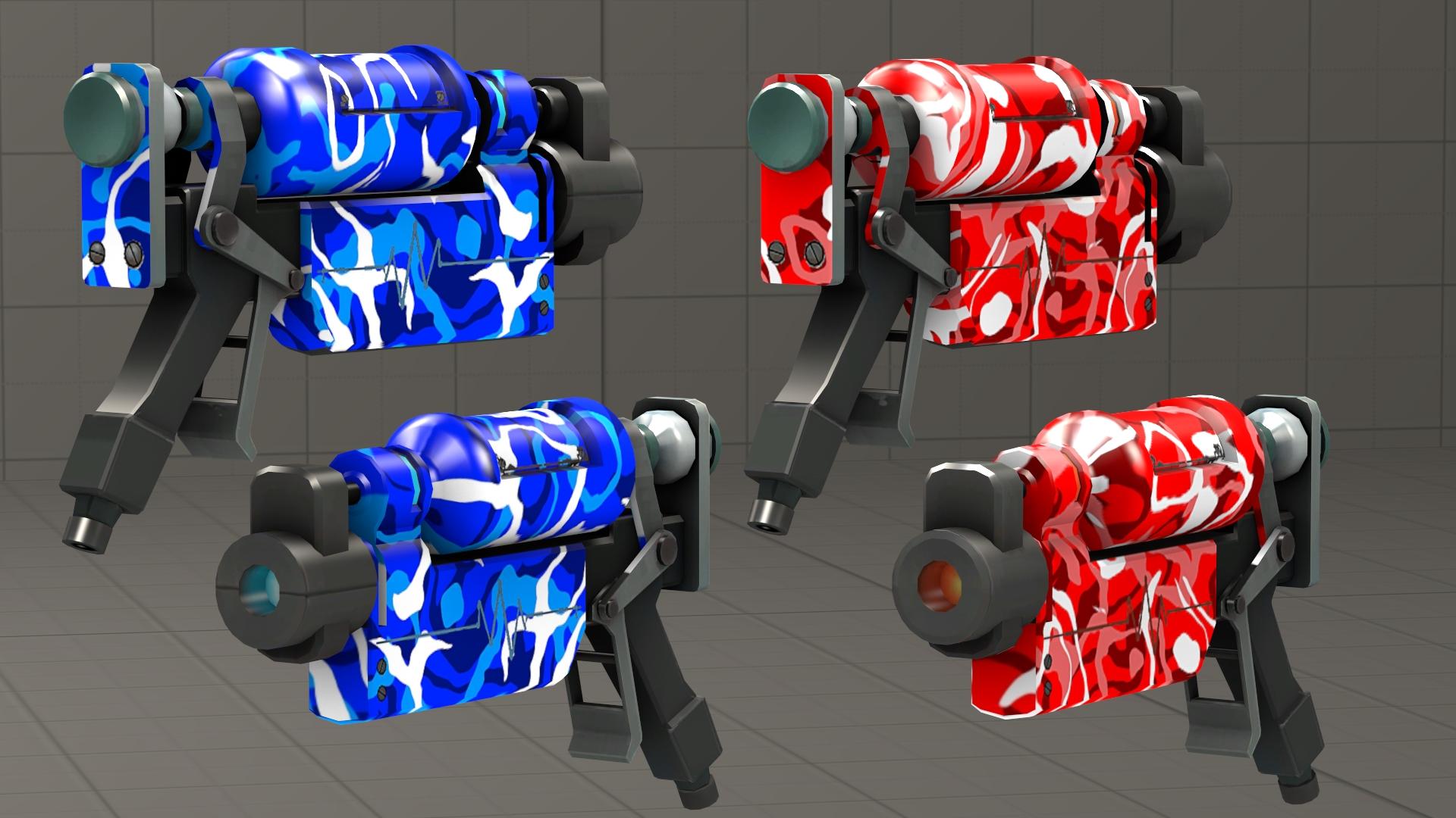 Blutsauger team Camo skins [DL] by Nikolad92