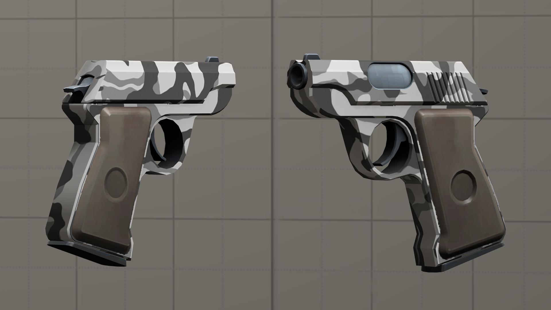 Urban camo pistol [DL] by Nikolad92