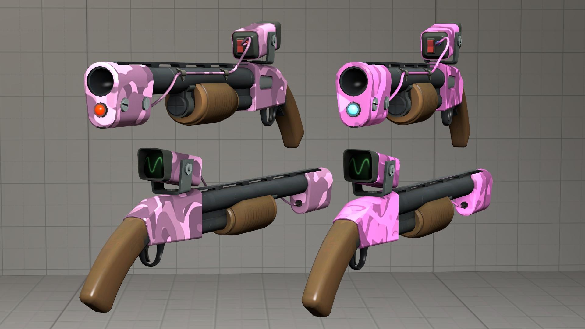 Pink camo Rescue Ranger [DL] by Nikolad92