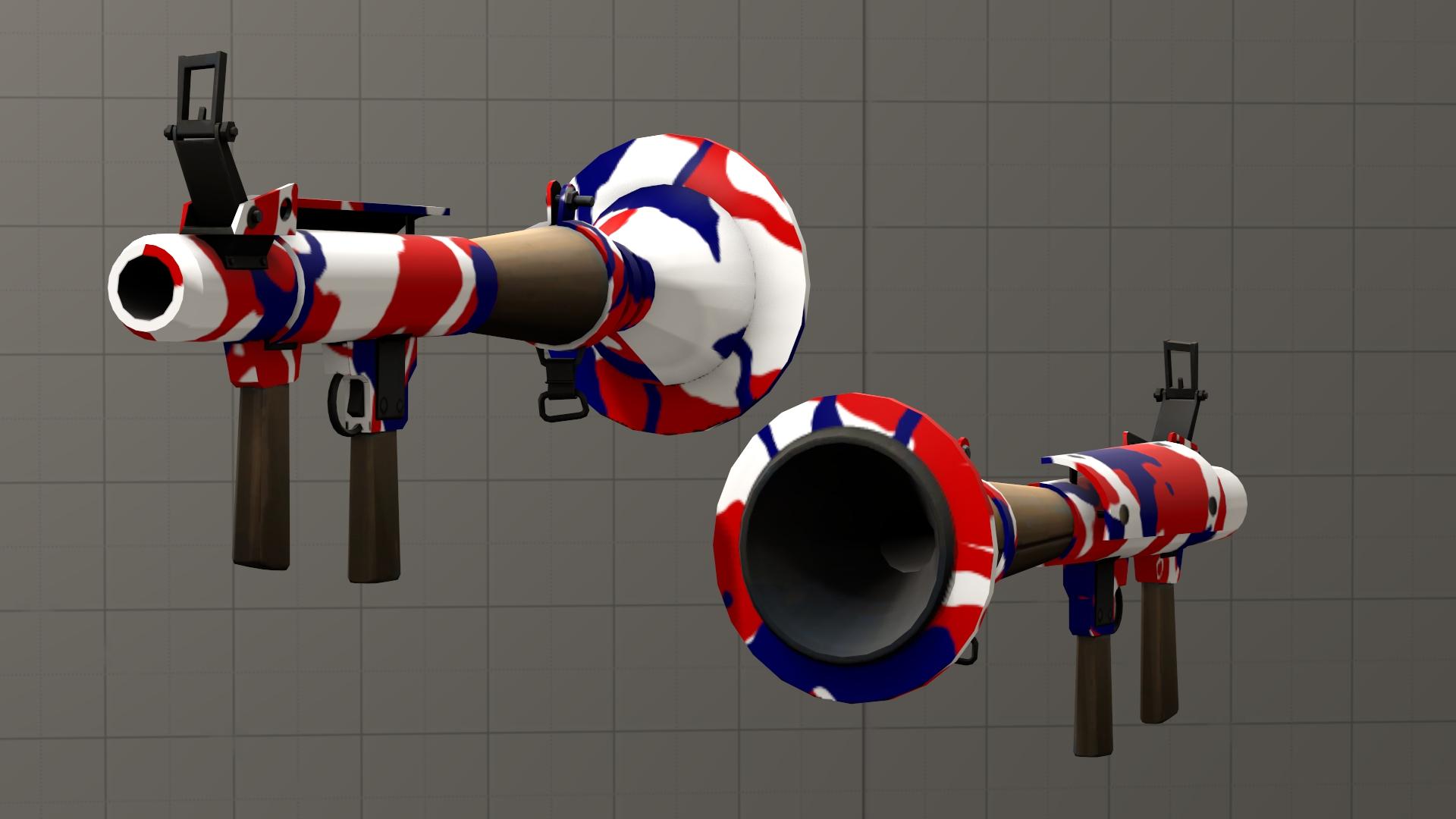 American pride camo Rocket Launcher [DL] by Nikolad92