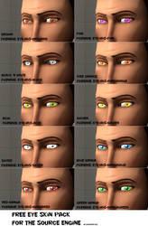 Eye reskin Pack 3 [DL] by Nikolad92