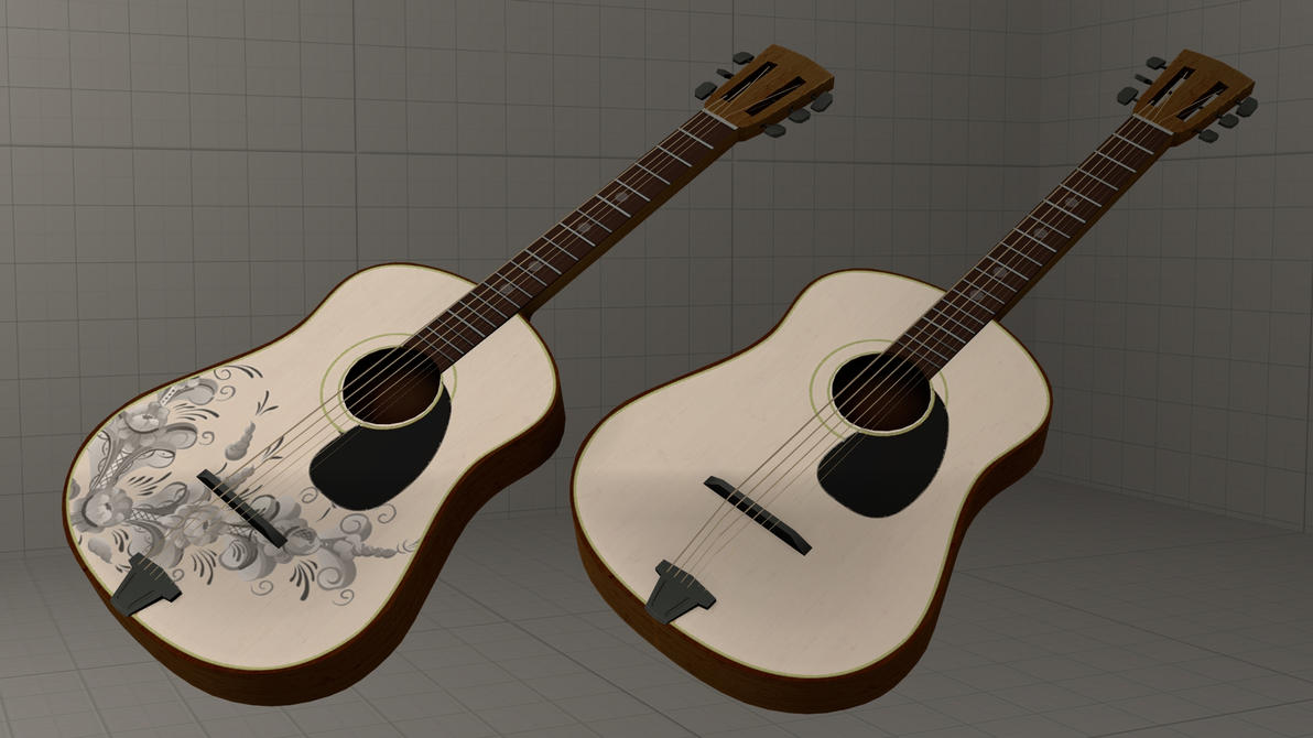 SFM guitar reskin [DL] by Nikolad92