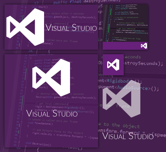 Visual Studio 2015 Start Menu Tiles by Everunis