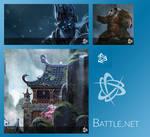 Battle.net Start Menu Tiles