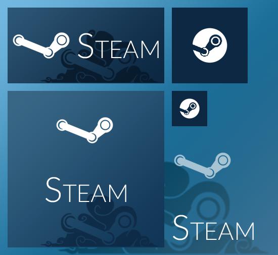 Steam Start Menu Tiles by Everunis