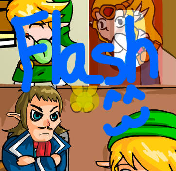 Zelda: DS clip madness by Lady-of-Link