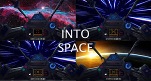 Into space - Rainmeter Layout by GioBonvi