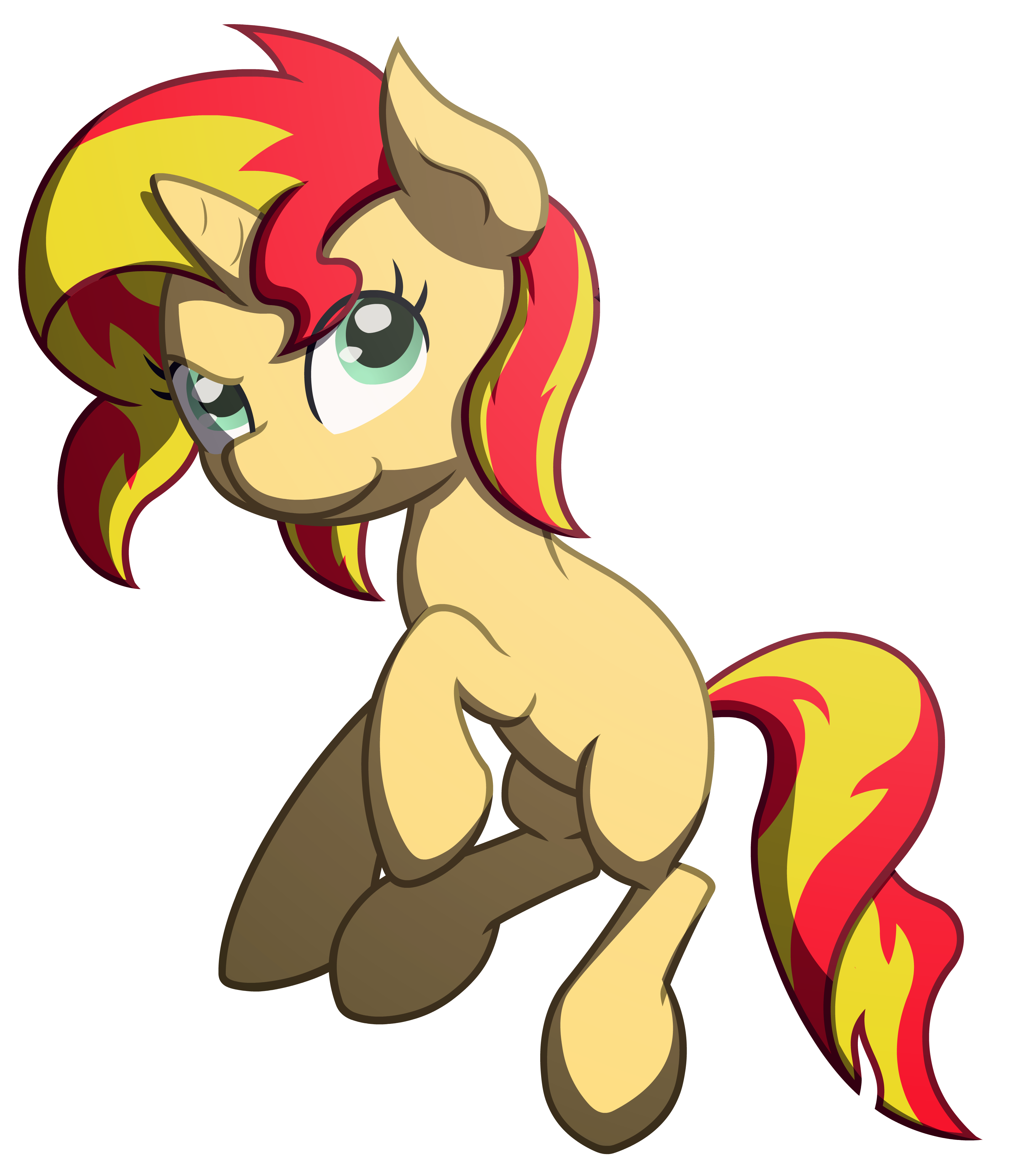the sunset shimmers by RedEnchilada