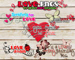 LOVE LOVE LOVE png text