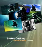 Broken Desktop - Samurize by CypherVisor