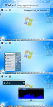 Windows 8 concept 'Talisman' by CypherVisor