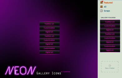 NEON Gallery Icons