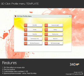 3D Click - Profile Menu by CypherVisor