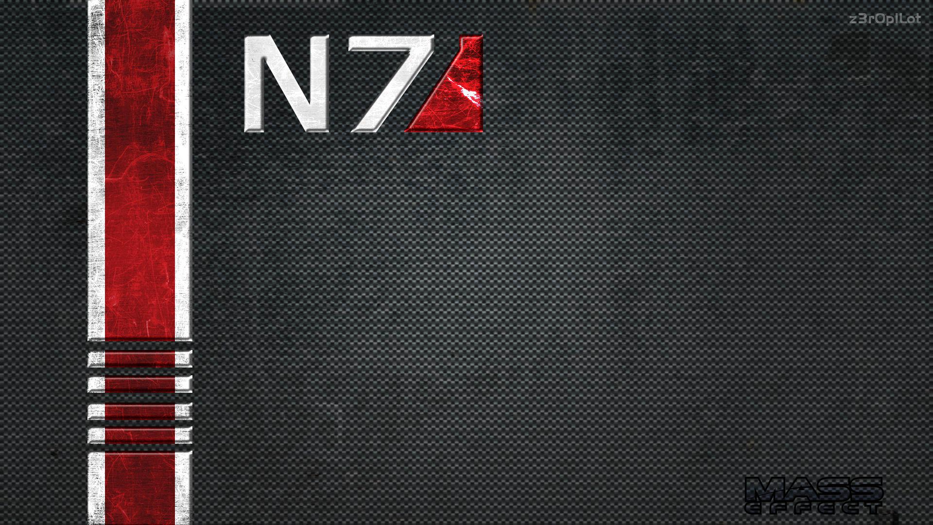 N Wallpaper By Z R P Lot on Carbon Fiber Texture