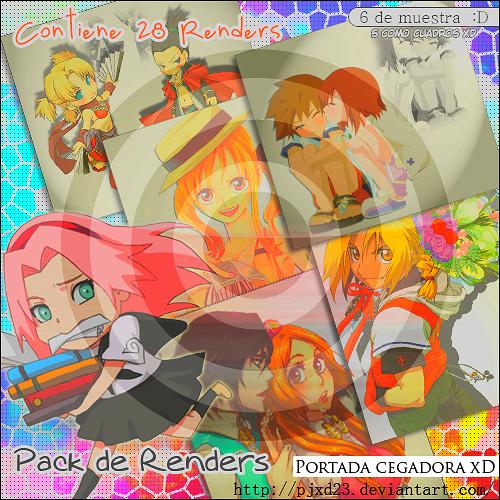 Pack de Renders 01 by PJXD23
