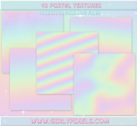 GirlyPixels Pastel Textures by girlypixels-com