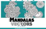 +Mandalas Vectors/Free
