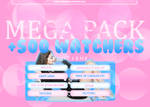 +//MEGA PACK: 500 WATCHERS//GRATIS//FREE