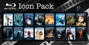 Blu-ray Icon Pack P