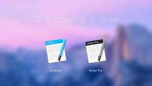 OS X Yosemite iA Writer Icons