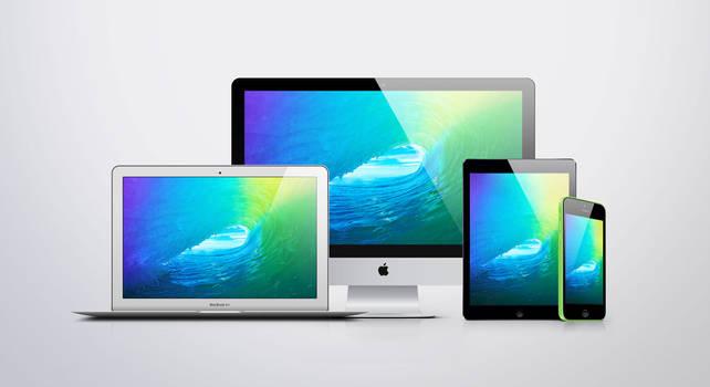 iOS 9 Wallpaper Set