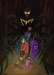 Digger Girl Dark Forest