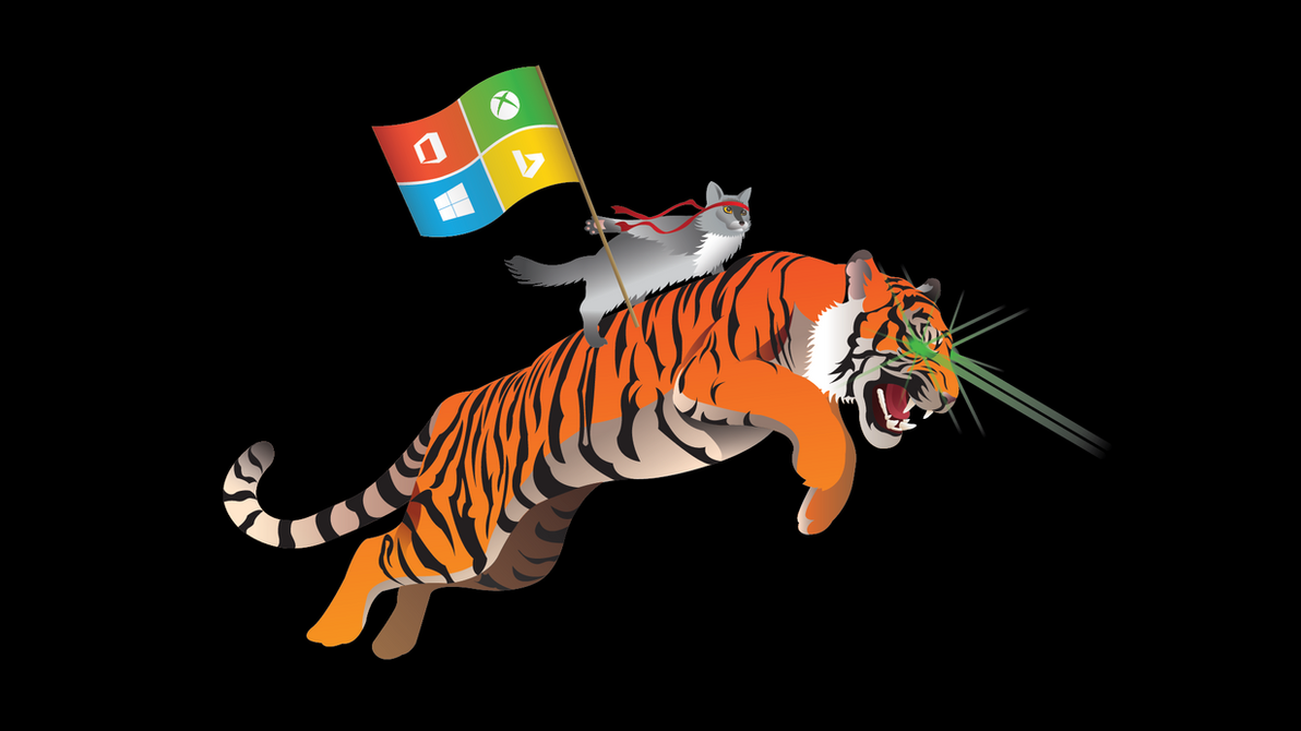Windows Insider Tiger by Yashlaptop
