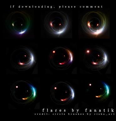 Light Flares IIII by gafanatik