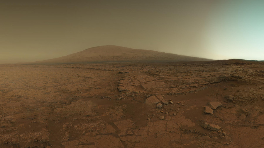 Mars Landscape 1 by Mgrafix2011