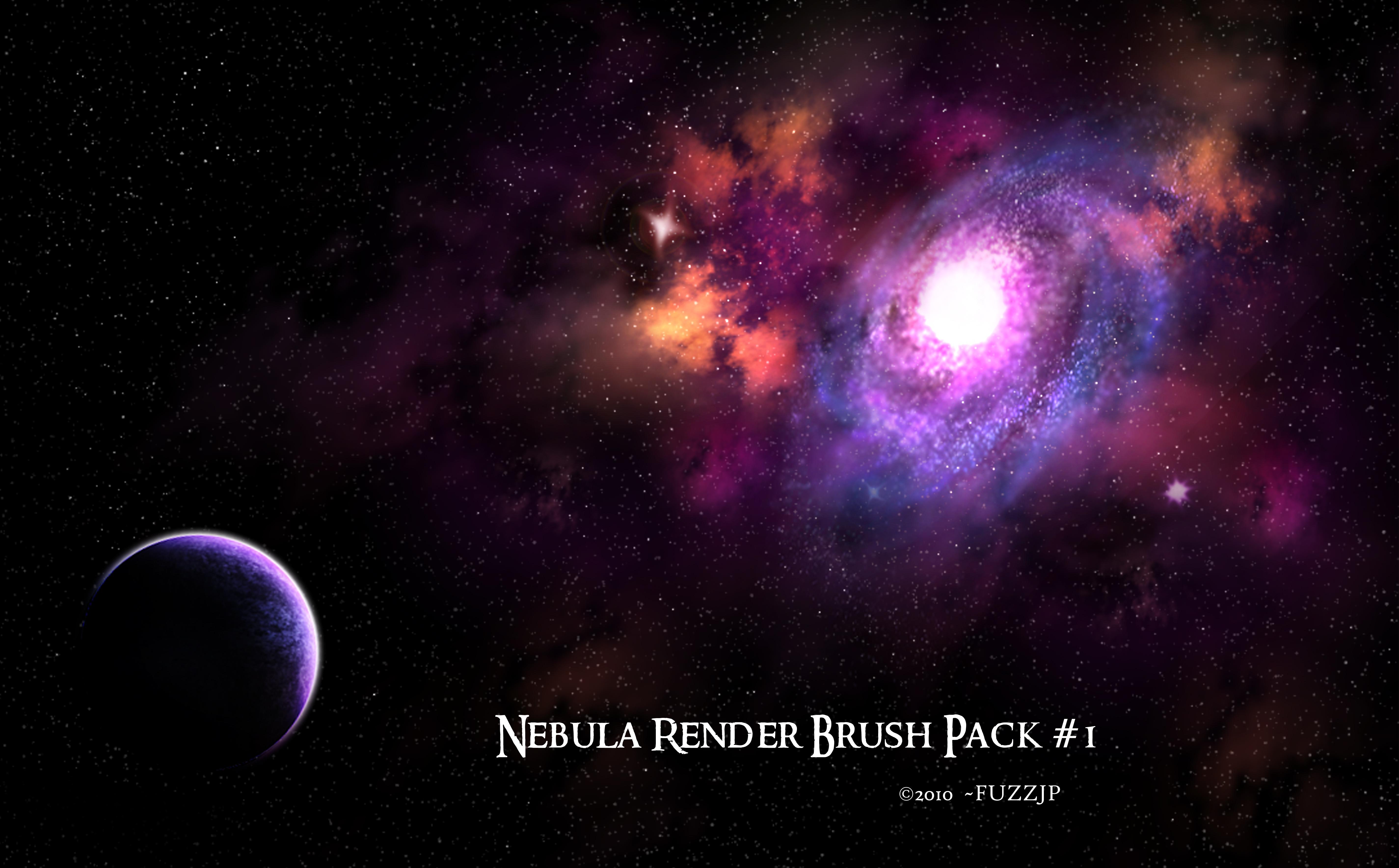 Hi-Res Nebula Brushes