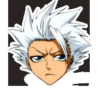 'cursor' Bleach Hitsugaya by annisaretry