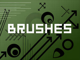 Shaped Brushes -set 01- by alexjames01
