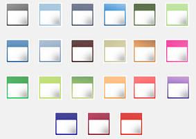 Blog Calendar Icons by alexjames01