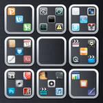 Flurry Folders iOS Style