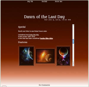 Dawn of the Last Day Journal Skin v1.11