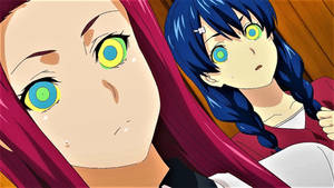Kaa Hypno Megumi And Ryoko (GIF)