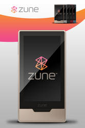 Zune HD PSD by zandog