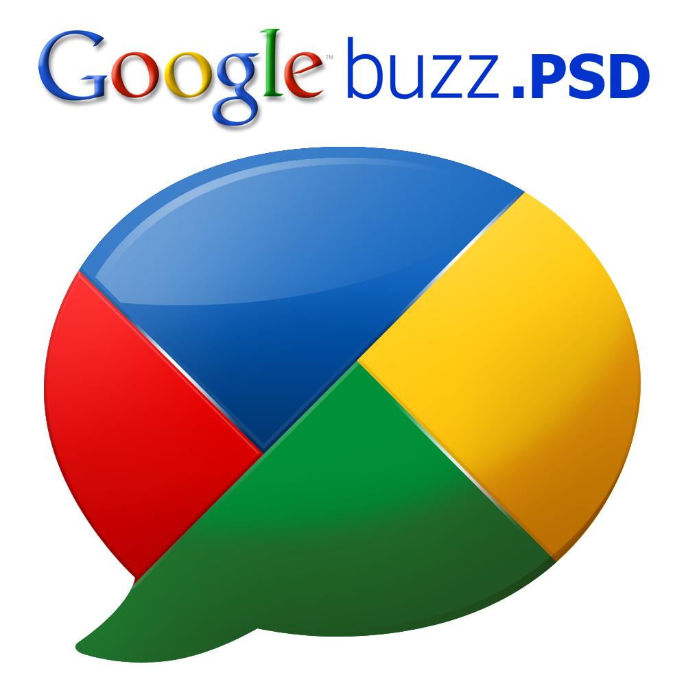 Google buzz Logo .PSD