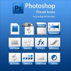 Photoshop Preset Icons .PSD