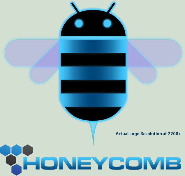 Android Honeycomb Logo HD .PNG