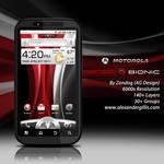 Motorola Droid Bionic v1 .PSD
