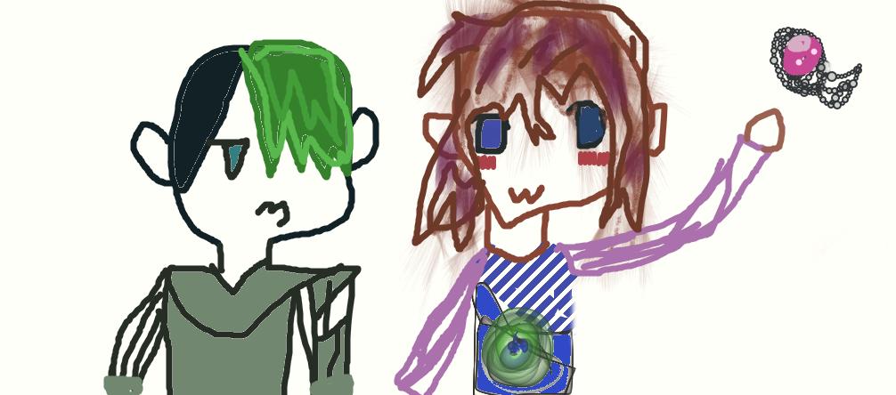 Kuro's first fanart attempt (Jacksepticeye) by Eeveemermaid