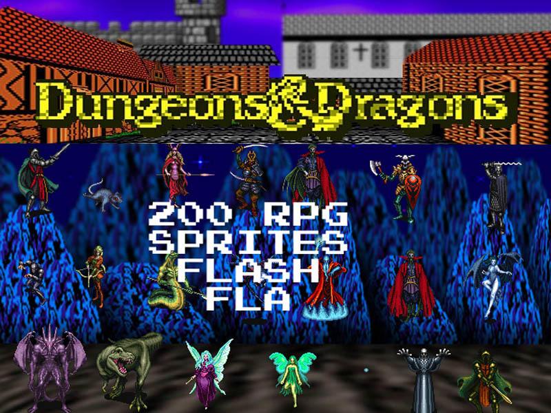 Arquivos Fla 200_RPG_Sprites_FLA_by_dbszabo1