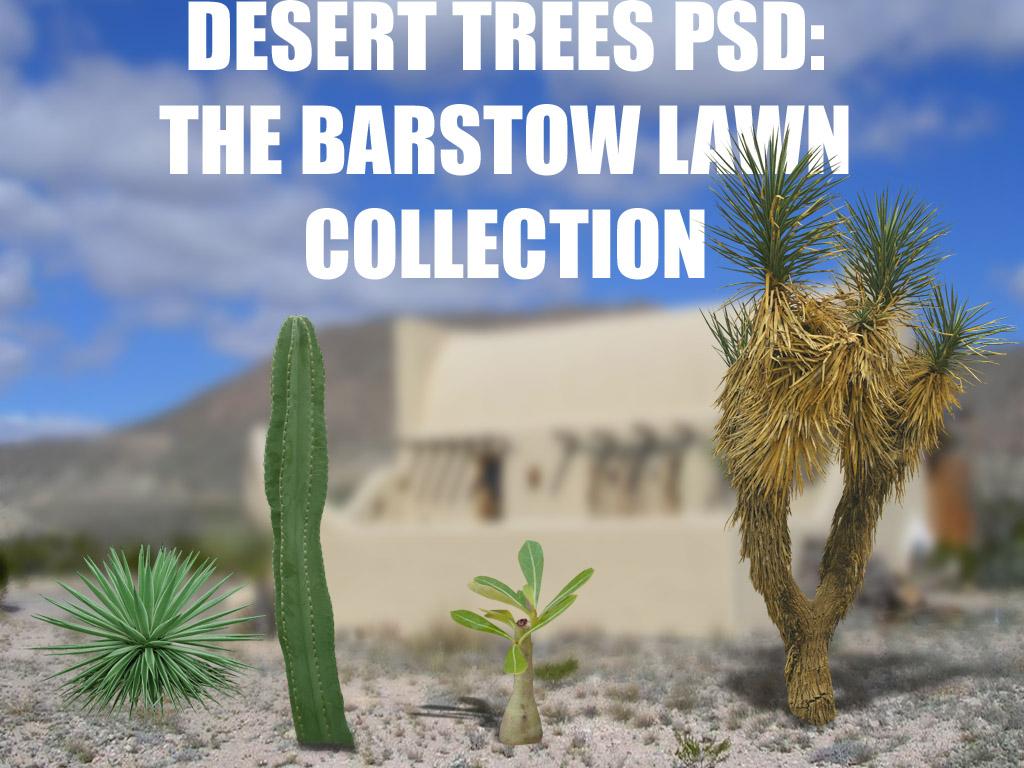 DESERT TREES PSD