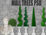 Mall Trees PSD