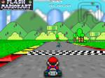 Flash Super Mario Kart 3D